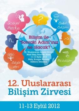 Bilişim Zirvesi'12 Etkinlik Afişi