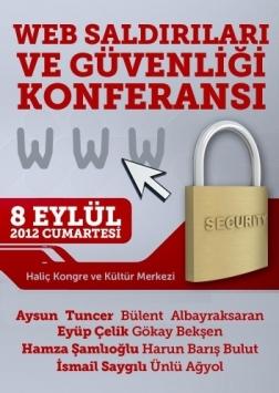 Web Saldırıları ve Güvenliği Konferansı Etkinlik Afişi