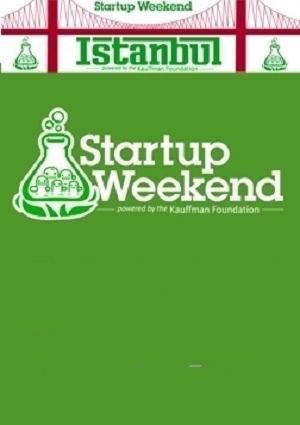 Startup Weekend İstanbul Etkinlik Afişi