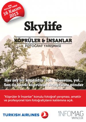 Skylife Köprüler & İnsanlar Fotoğraf Yarışması Etkinlik Afişi