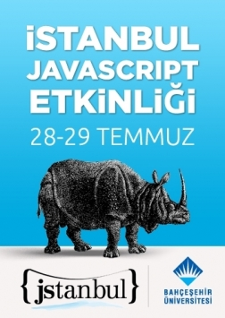 Jstanbul - İstanbul JavaScript Etkinliği Etkinlik Afişi