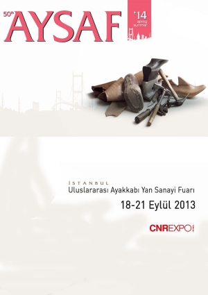 Aysaf 11. Uluslararası Ayakkabı Yan Sanayi Fuarı Etkinlik Afişi