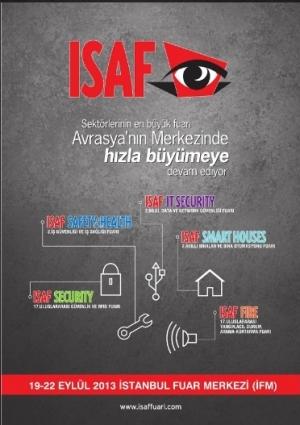 17. ISAF IT Security Bilgi, Data ve Ağ Güvenliği Fuarı Etkinlik Afişi