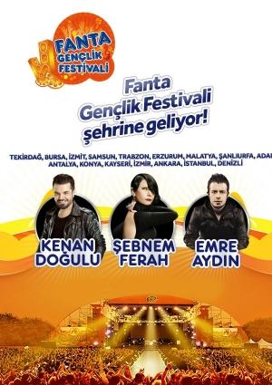 12. Fanta Gençlik Festivali 2013 Etkinlik Afişi