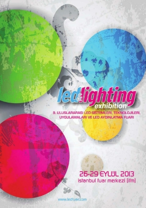 5. LED Konferansı Etkinlik Afişi