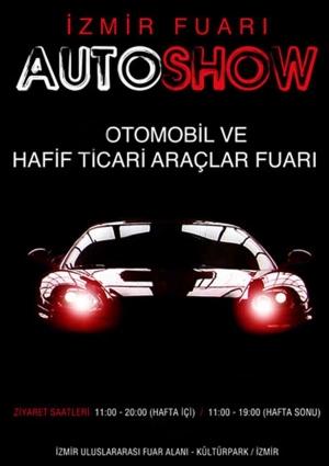 9. İzmir Autoshow Otomobil ve Ticari Araçlar Fuarı 2013 Etkinlik Afişi