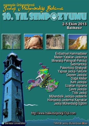 Jeoloji Mühendisliği Bölümü 10. Yıl Sempozyumu Etkinlik Afişi