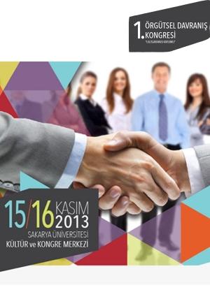 I. Örgütsel Davranış Kongresi Etkinlik Afişi