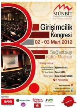 8.Girişimcilik Kongresi Etkinlik Afişi