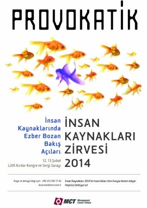 İnsan Kaynakları Zirvesi 2014 Etkinlik Afişi