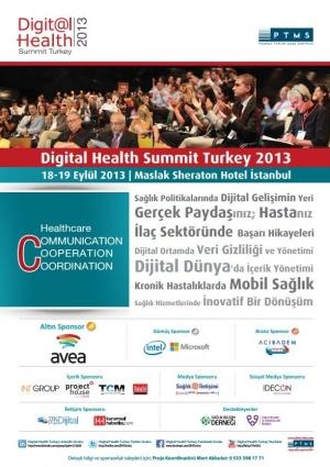 Digital Health Summit Etkinlik Afişi
