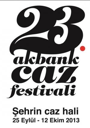 23. Akbank Caz Festivali 2013 Etkinlik Afişi