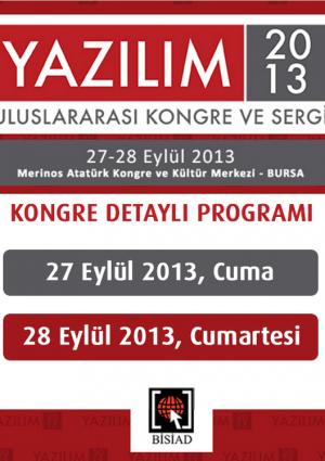 Yazılım Kongresi 2013 Etkinlik Afişi
