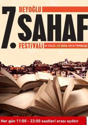 7. Beyoğlu Sahaf Festivali Etkinlik Afişi
