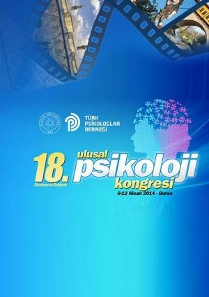 18. Ulusal Psikoloji Kongresi Etkinlik Afişi