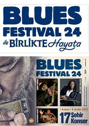 Efes Pilsen Blues Festival 24 Etkinlik Afişi