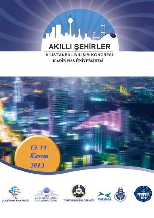 7. İstanbul Bilişim Kongresi - Akıllı Şehirler Etkinlik Afişi
