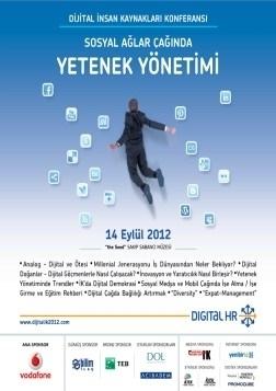Dijital İnsan Kaynakları Konferansı Etkinlik Afişi