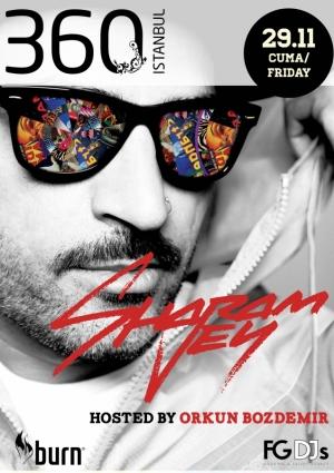 DJ Sharam Jey Konseri Etkinlik Afişi