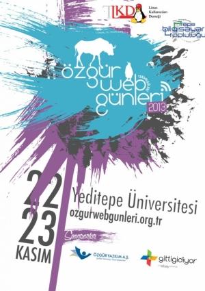 Özgür Web Teknolojileri Günleri 2013 Etkinlik Afişi