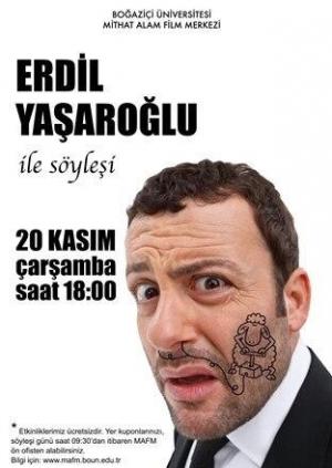 Erdil Yaşaroğlu ile Söyleşi Etkinlik Afişi