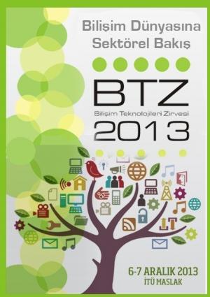 6. Bilişim Teknolojileri Zirvesi (BTZ) Etkinlik Afişi