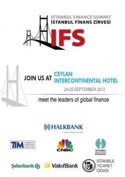 İstanbul Finans Zirvesi 2012 Etkinlik Afişi