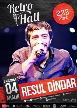 Resul Dindar Eskişehir Konseri Etkinlik Afişi