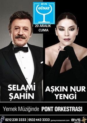 Selami Şahin&Aşkın Nur Yengi Etkinlik Afişi