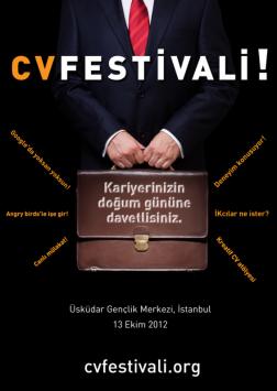 CV Festivali Etkinlik Afişi