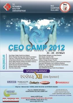 Ceo Camp 2012 Etkinlik Afişi