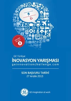 GE Türkiye İnovasyon Yarışması Etkinlik Afişi