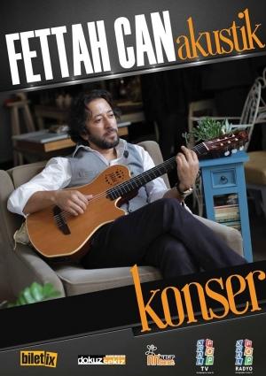 Fettah Can Gaziantep Konseri Etkinlik Afişi
