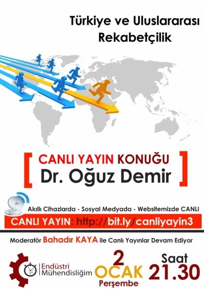 Türkiye ve Uluslararası Rekabetçilik Etkinlik Afişi
