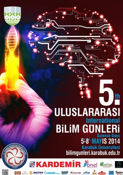 5. International Science Days Etkinlik Afişi