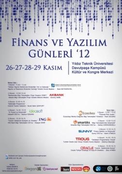 Finans ve Yazılım Günleri 2012 Etkinlik Afişi