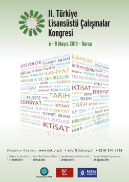 II. Türkiye Lisansüstü Çalışmalar Kongresi Etkinlik Afişi
