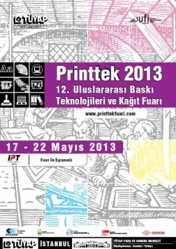 Printtek 2013 Fuarı Etkinlik Afişi