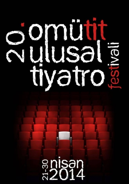 OMÜTİT - 20. Ulusal Tiyatro Festivali Etkinlik Afişi