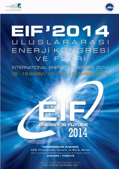 Uluslararası Enerji Kongresi ve Fuarı Afişi