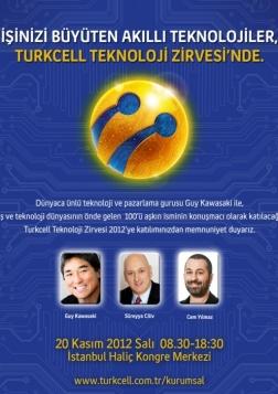 Turkcell Teknoloji Zirvesi 2012 Etkinlik Afişi