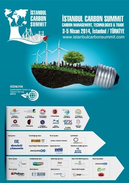 İstanbul Carbon Summit / İstanbul Karbon Zirvesi Etkinlik Afişi
