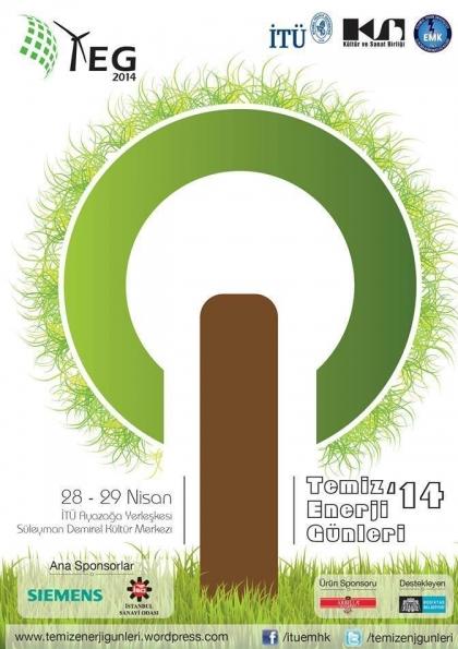 Temiz Enerji Günleri'14 Etkinlik Afişi