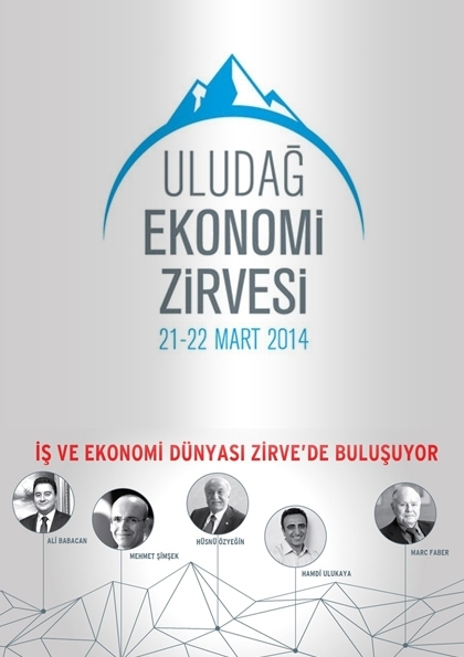 Uludağ Ekonomi Zirvesi Etkinlik Afişi