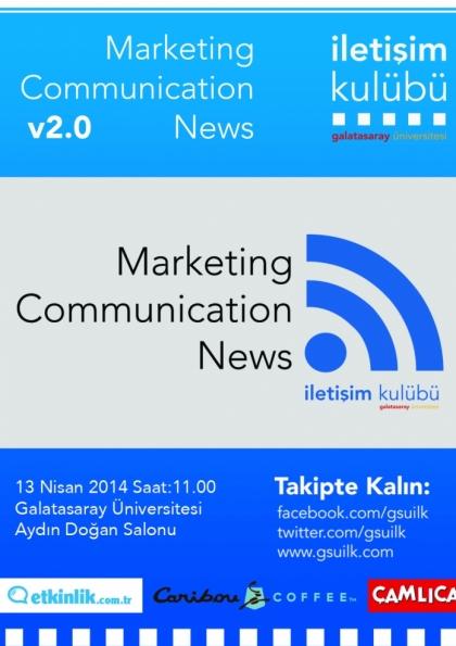 Marketing Communication News v2.0 Etkinlik Afişi