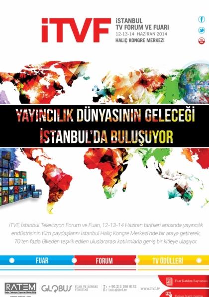 İTVF - İstanbul TV Forum ve Fuarı Etkinlik Afişi
