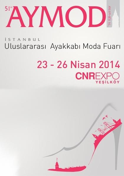 Aymod 12. Uluslararası Ayakkabı Moda Fuarı Etkinlik Afişi