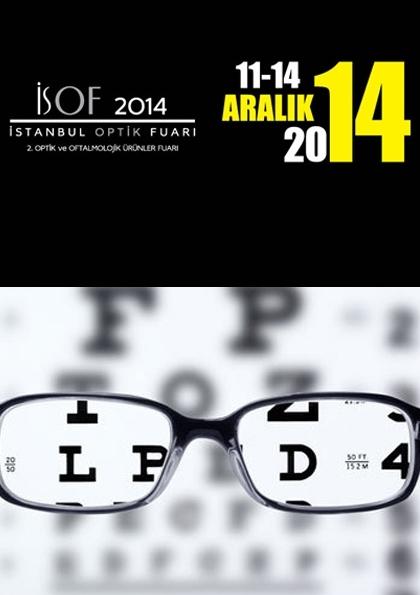 İsof İstanbul Optik Fuarı Etkinlik Afişi