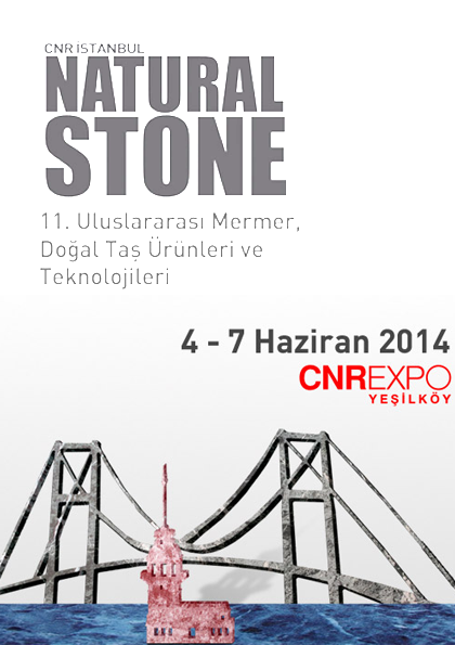 Natural Stone 2014 Etkinlik Afişi