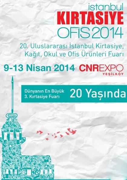 Kırtasiye - Ofis Fuarı 2014 Etkinlik Afişi